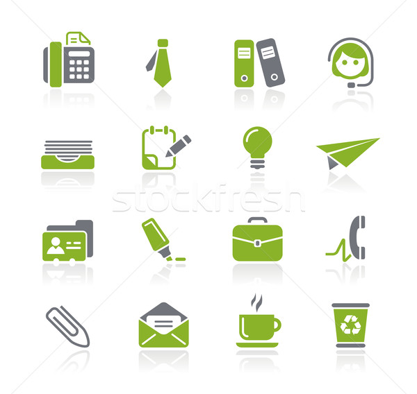 Foto stock: Oficina · negocios · profesional · iconos · sitio · web · presentación