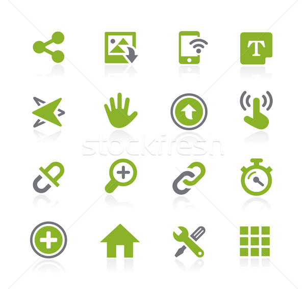 System Icons Interface // Natura Series Stock photo © Palsur