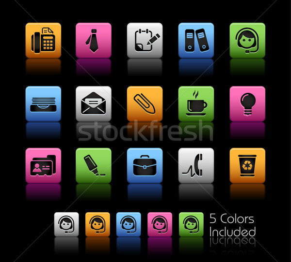 Stock photo: Office & Business // Color Box Series