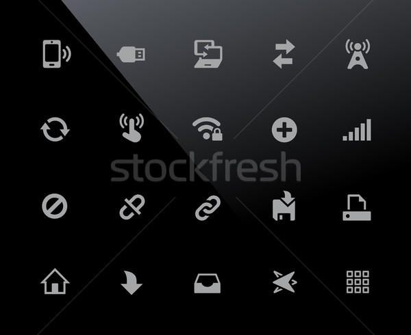 Web & Mobile Icons 6 // 32px Series Stock photo © Palsur