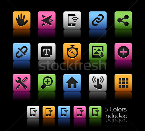Stock photo: System Icons Interface -- ColorBox Series