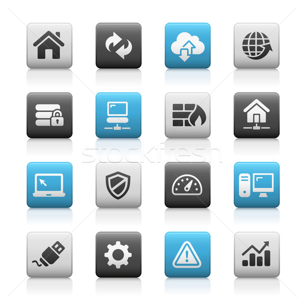 Web Developer Icons - Matte Series Stock photo © Palsur