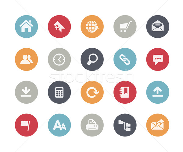 Website Icons // Classics Series Stock photo © Palsur