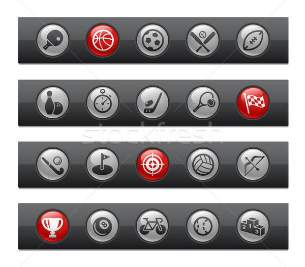 Sports -- Button Bar Series  Stock photo © Palsur
