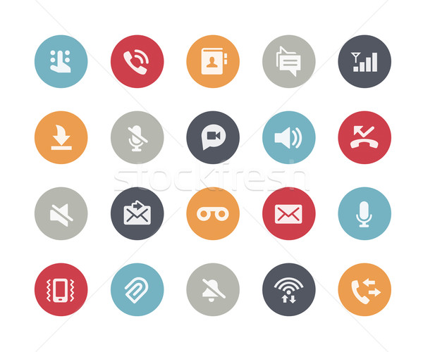 Web & Mobile Icons - 1 // Classics Series Stock photo © Palsur