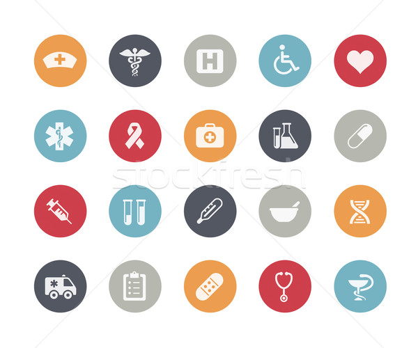 Medical Icons // Classics Series Stock photo © Palsur