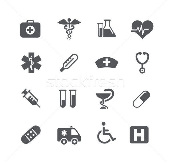Medical Icons -- Utility Series Stock photo © Palsur