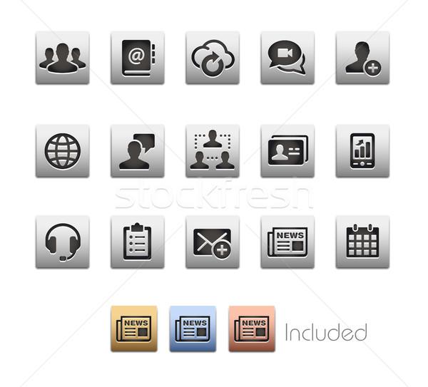 Stok fotoğraf: Business · network · teknoloji · vektör · dosya · eps