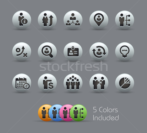 Efficiency and Business Strategies -- Pearly Series Stock photo © Palsur