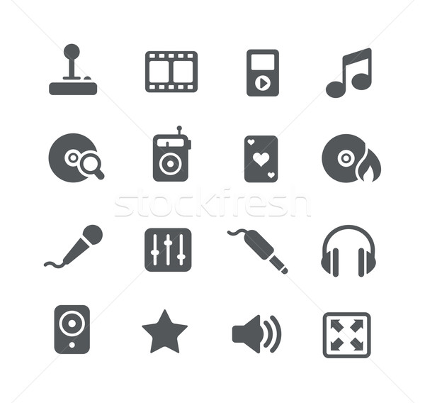 Web and Software Development icons -- Utility Series Stock photo © Palsur