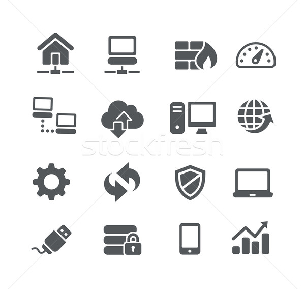 Network Icons - Utility Series Stock photo © Palsur