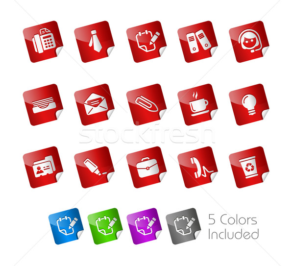 Office & Business // Sticker Series Stock photo © Palsur