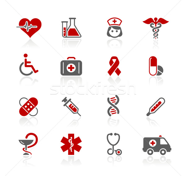 Medicine & Heath Care Icons// Redico Series Stock photo © Palsur