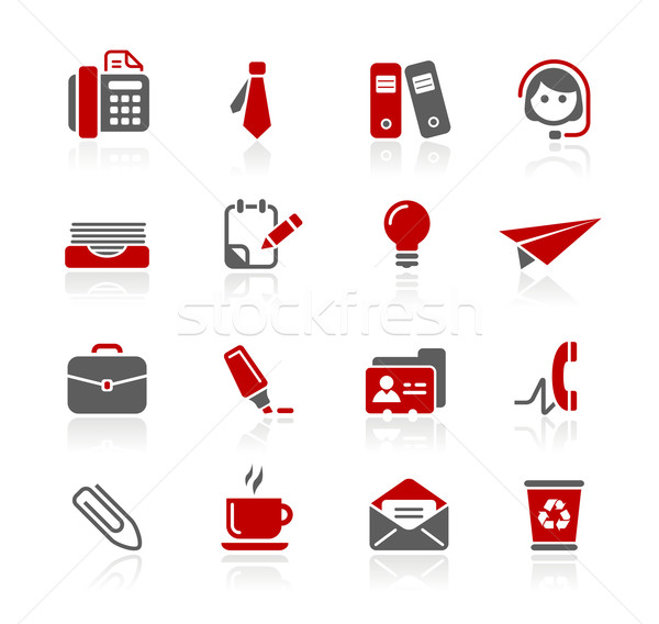 Stock photo: Office & Business  Icons// Redico Series