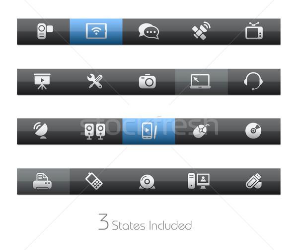 Iletişim eps dosya düğmeler farklı Stok fotoğraf © Palsur