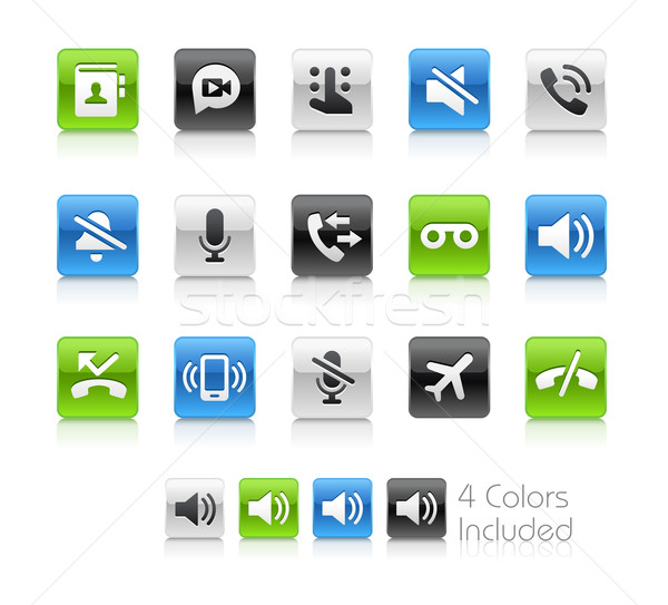 Web and Mobile Icons 1 -- Clean Series Stock photo © Palsur