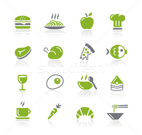 Food Icons - 1 of 2 -- Natura Series Stock photo © Palsur