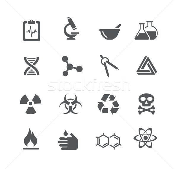 Science Signs and Symbols -- Utility Series Stock photo © Palsur