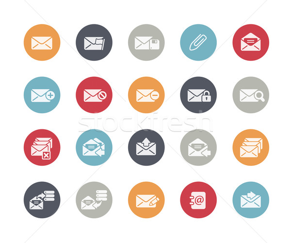 E-mail Icons // Classics Series Stock photo © Palsur