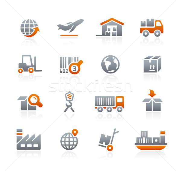 Industry and Logistics -- Graphite Series Stock photo © Palsur