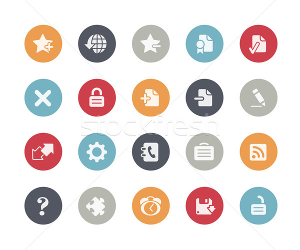 Web Icons // Classics Series Stock photo © Palsur
