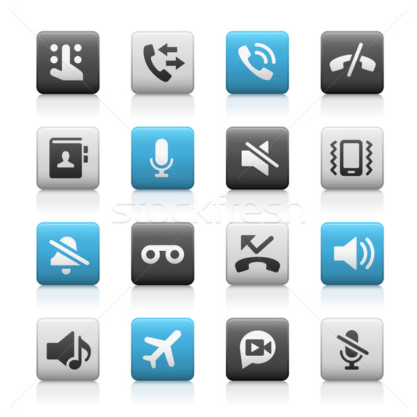 Web and Mobile Icons 1 // Matte Series Stock photo © Palsur
