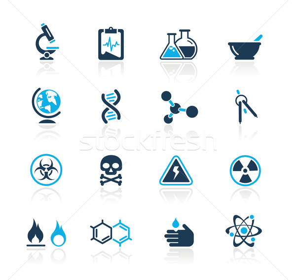 Science // Azure Series Stock photo © Palsur