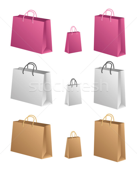 Shopping Bags Stock photo © Palsur