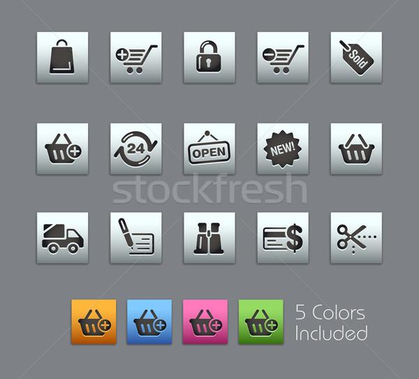 Alışveriş eps dosya renk farklı Stok fotoğraf © Palsur