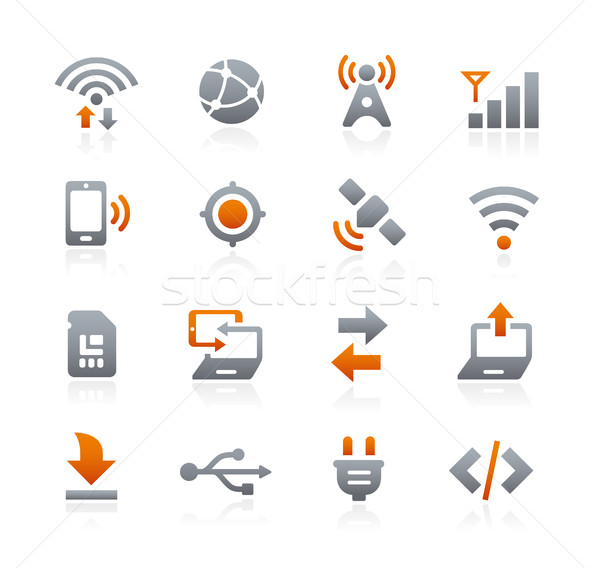 Web and Mobile Icons 6 -- Graphite Series Stock photo © Palsur
