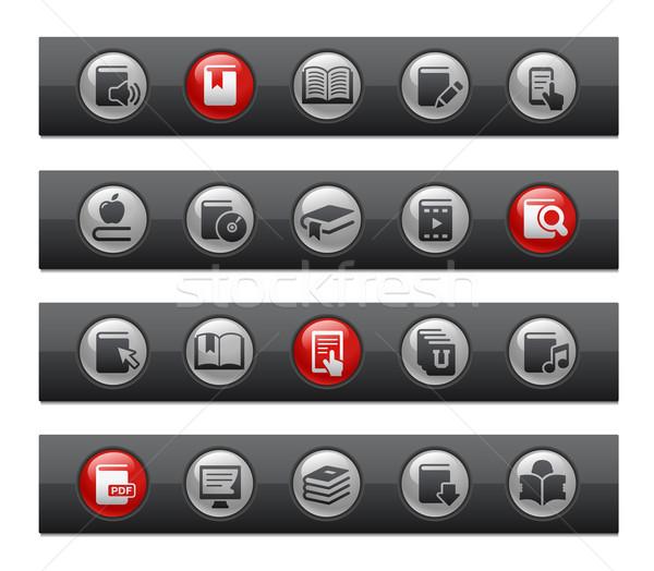 E-Books -- Button Bar Series  Stock photo © Palsur