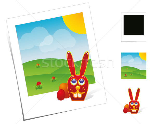 Animal Scenes / Easter Bunny Stock photo © Palsur