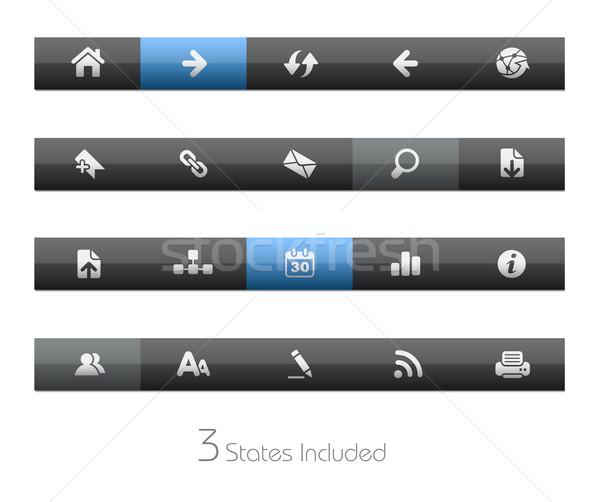 Stock photo: Web Navigation // Blackbar Series