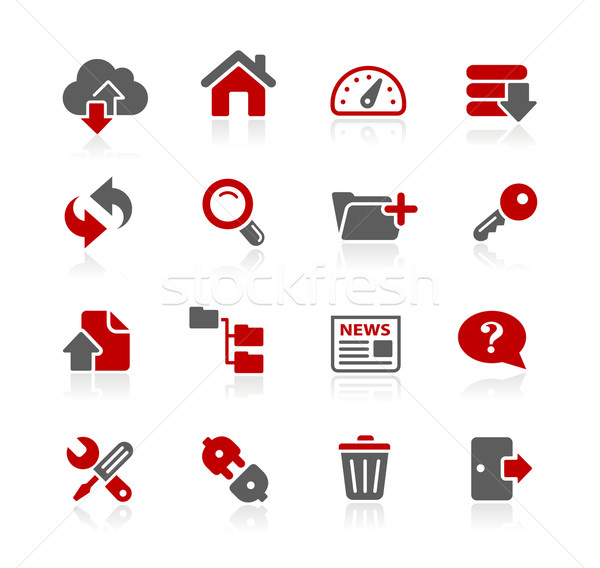 FTP and Hosting Icons -- Redico Series  Stock photo © Palsur