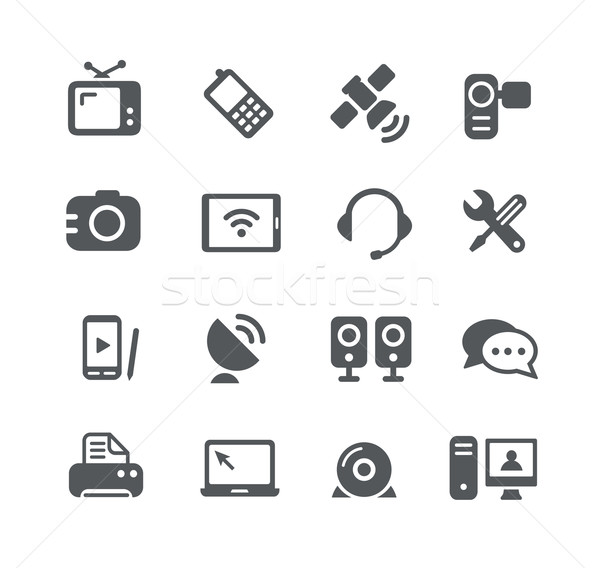 Communication Icons -- Utility Series Stock photo © Palsur