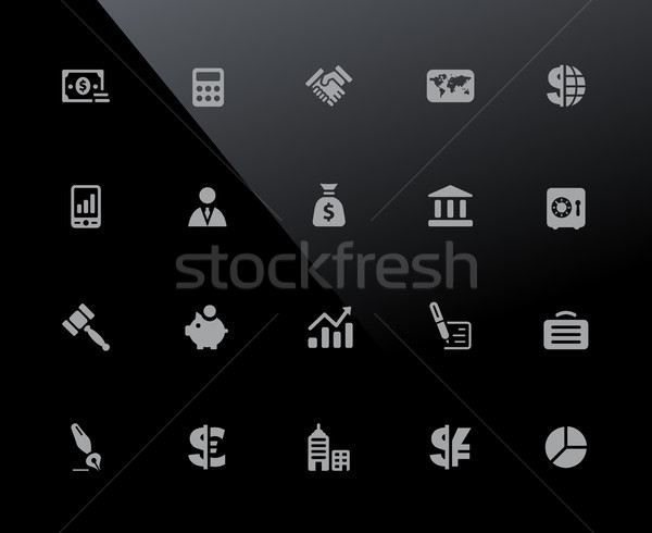 Business and Finance Icons // 32px Series Stock photo © Palsur