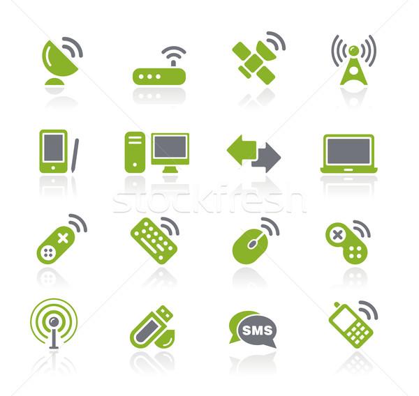 Wireless & Comunications // Natura Series Stock photo © Palsur