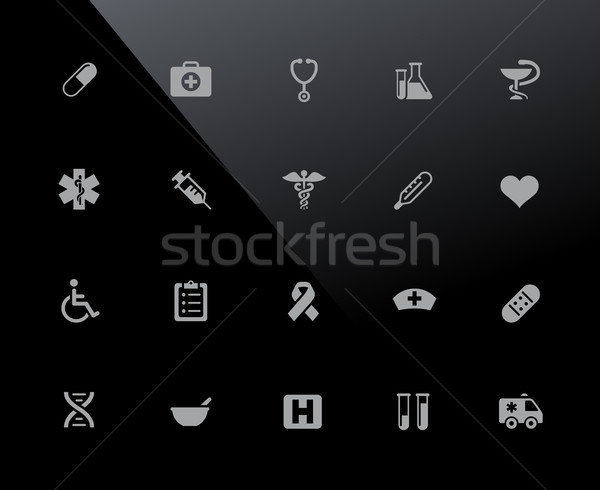 Medical Icons // 32px Series Stock photo © Palsur