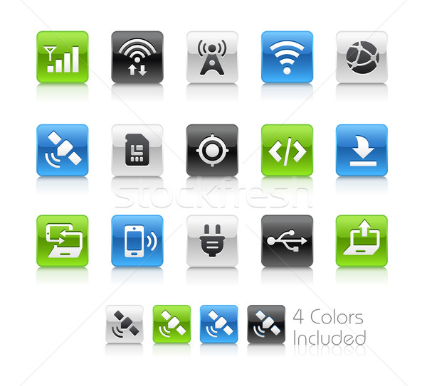 Web and Mobile Icons 6 -- Clean Series Stock photo © Palsur