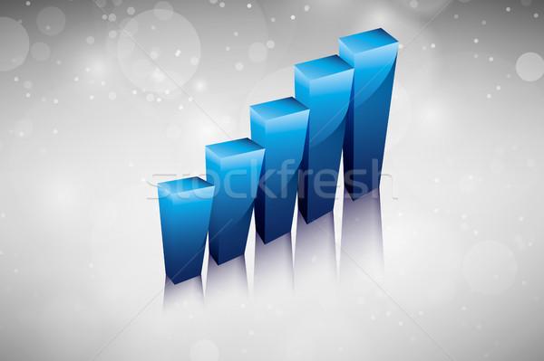 成長 ビジネス パンフレット 図 にログイン 銀行 ストックフォト © Panaceadoll