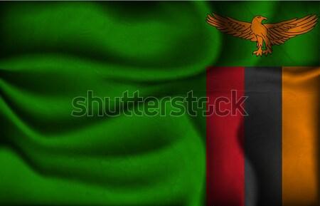 波 国 フラグ 影 世界 アフリカ ストックフォト © Panaceadoll