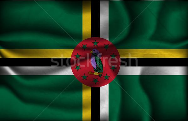волна стране флаг Тени Мир Африка Сток-фото © Panaceadoll