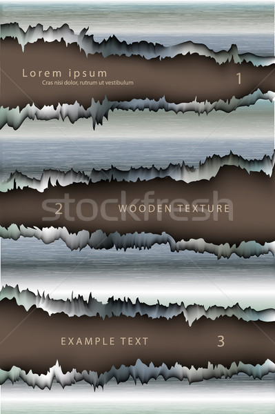 Trou métal design fond explosion bullet Photo stock © Panaceadoll