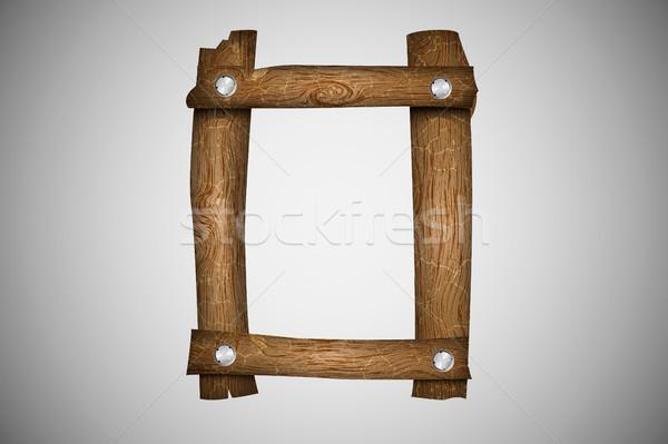 Ahşap alfabe mektup doku ağaç ahşap Stok fotoğraf © Panaceadoll