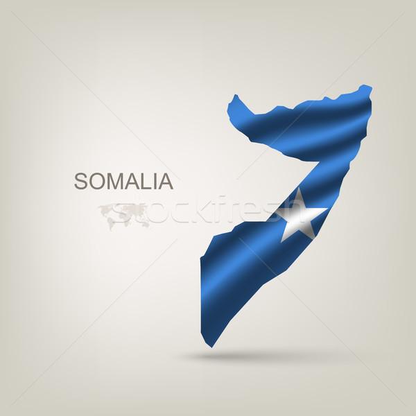 Zdjęcia stock: świat · flagi · podróży · banderą · Afryki