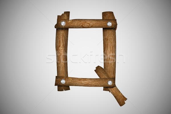 Wooden alphabet letter Stock photo © Panaceadoll