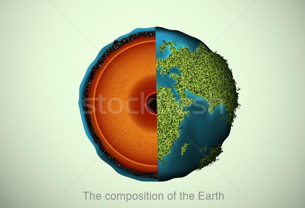 地球 地図 自然 背景 教育 ホット ストックフォト © Panaceadoll