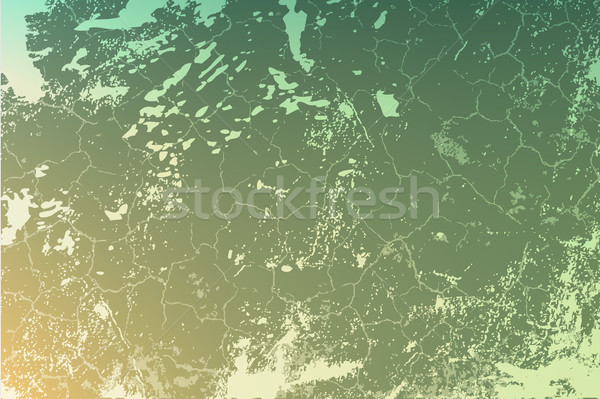 cracked concrete vintage wall background,old wall. vector Stock photo © Panaceadoll