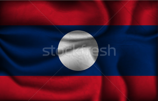 wave country flag with shadows Stock photo © Panaceadoll