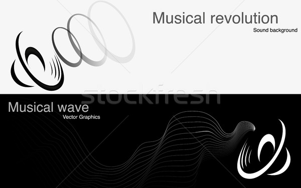 speaker and sound waves icon Stock photo © Panaceadoll